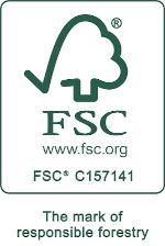 FSC tooted märk (Meriste puit)